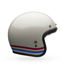 Bell 2016 Custom 500 Stripes Motorcycle Helmet Magic Racing